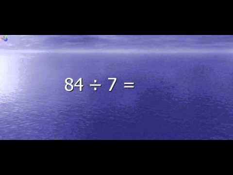 Multiplication and Division Math Facts Drill (7s)