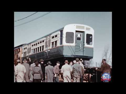 CTA From the Archives: Delivery of a 6000-series Rail Car [REMASTERED]