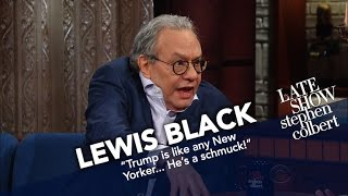 Lewis Black Begins His Mornings With The News And Screaming