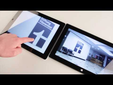 Test Microsoft Surface, Windows RT, versus iPad (review german)