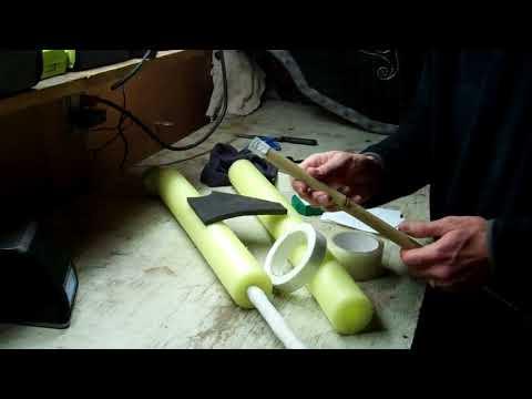 How to Build a LARP sword