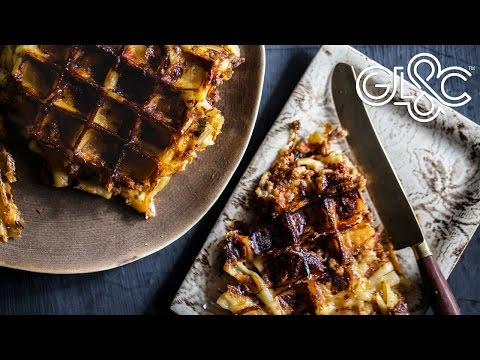 Mac 'n' Cheese Bolognese Waffles | The Ultimate Snack | GLAC