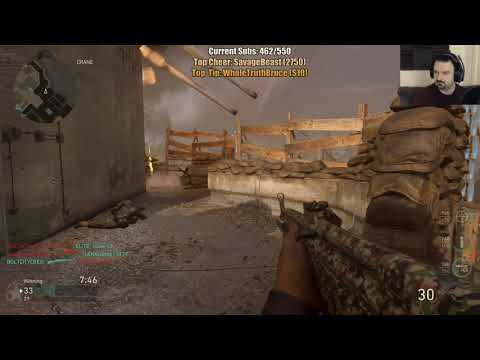 COD WW II MY BEST SESSION EVER! pt38 (final, what a day!)