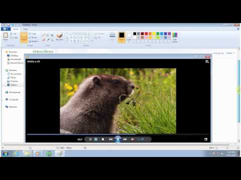 How to capture screenshot in windows 7 Urdu / Hindi Tutorial