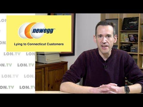 Newegg Lied to CT Customers, Turned Over Customer Data to Tax Authorities