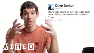 Alex Honnold Answers Rock Climbing Questions From Twitter | Tech Support | WIRED