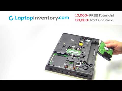 Lenovo ThinkPad T440 Hard Drive Replacement Disassembly Take Apart E440 L440 T460