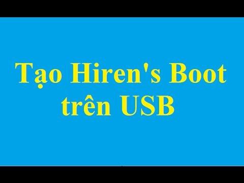 Hướng dẫn cách tạo USB boot với Hiren's Boot - http://taimienphi.vn