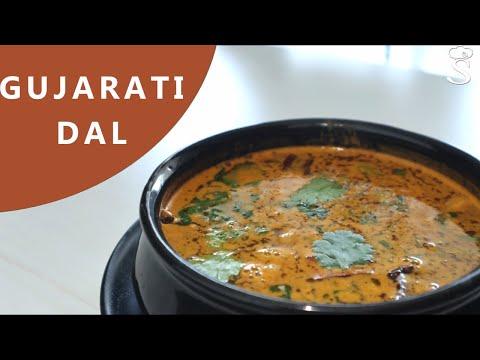 Gujarati Dal Recipe | How to make Gujarati Tuvar Dal | Khatti Meethi Dal Recipe by Shree's Recipes