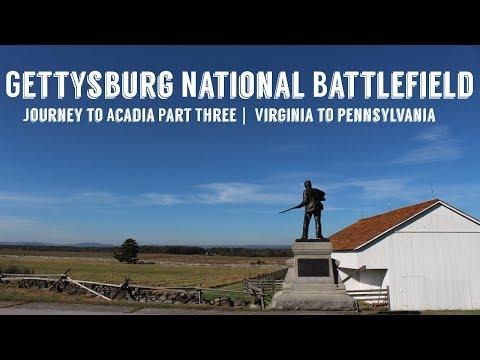 Gettysburg National Battlefield | Journey to Acadia Part Three | Wandering Around In Wonder