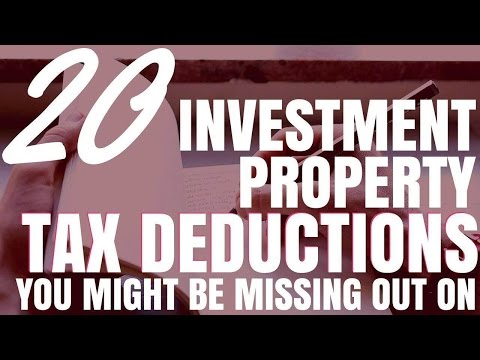20 Investment Property Tax Deductions You Might Be Missing Out On (Ep39)