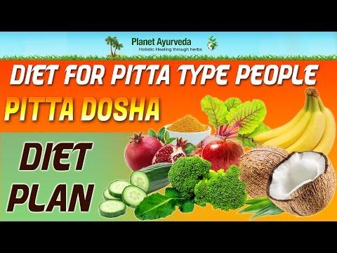 Diet for Pitta Type People- Pitta Dosha Diet Plan