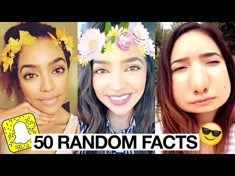 50 Random Facts SNAPCHAT STYLE | Milca Rhodes