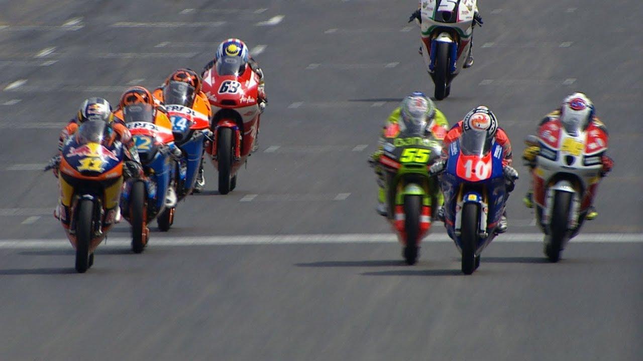 Final laps of Catalunya 2012 -- Moto3™ Madness
