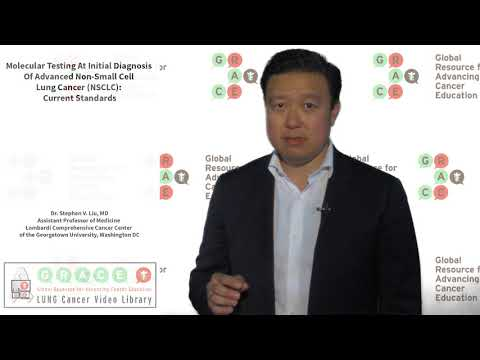 Molecular Testing At Initial Diagnosis Of Advanced Non Small Cell Lung Cancer