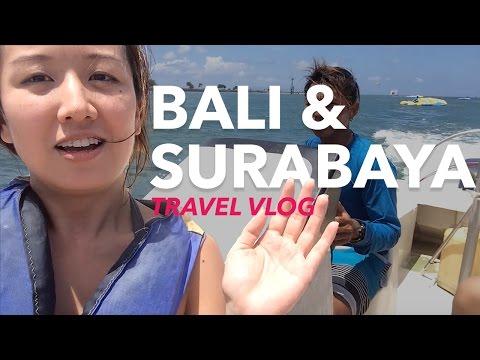 [Travel Vlog (EP.02) ] INDONESIA: Fun in Bali & Surabaya!