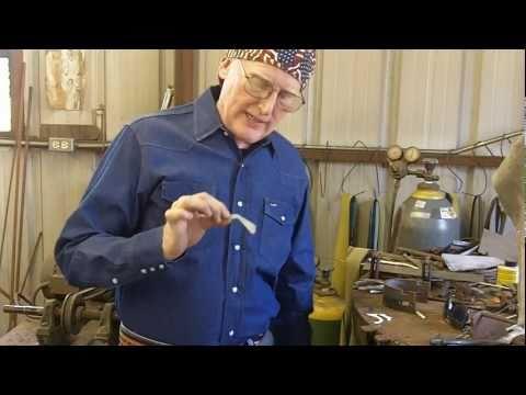 Spur Making - handmade cowboy spurs - Bruce Cheaney bit and spur maker