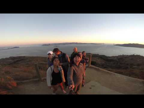 Backpacking Angel Island SP - Sept 2016 HD