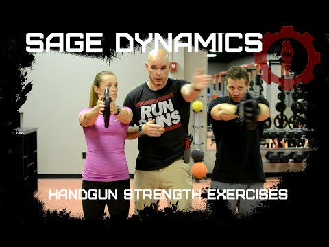 Handgun Strength Exercises