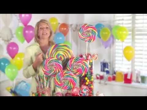 How To Make A Colorful CANDY BUFFET