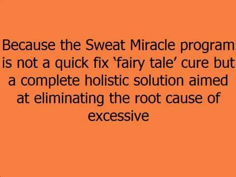Cures for hyperhidrosis, Miles Dawson's Sweat Miracle Review
