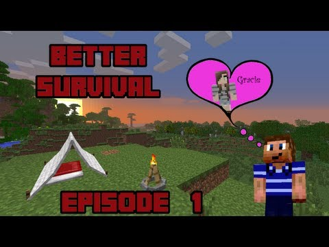 Better Survival Ep. 1 - Survival, But Better! (Minecraft Mod Pack) (Minecraft Multi-play)