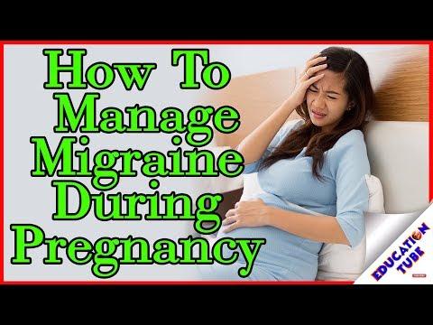प्रेगनेंसी में  कैसे दूर करे माइग्रेन कि समस्या -How To Manage Migraine During Pregnancy