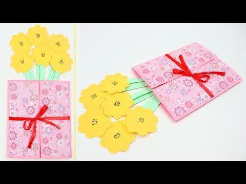 How to Make Mother's Day Easter POP-UP Card !!! Cute & Easy St Patrick's Day Spring Greeting Cards