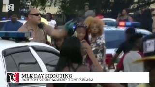 Eight people shot during MLK Day festivities in Miami