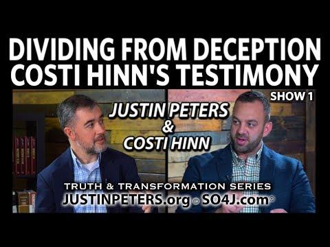 Costi Hinn's Testimony & Justin Peters: Dividing from Deception: Show 1 | SO4J-TV