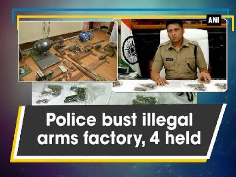 Police bust illegal arms factory, 4 held - West Bengal News