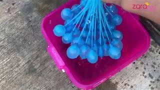 Seru banget main Bunch O Balloons   Mengisi 30 Balon dengan Air kurang dari 1 Menit   Zara Cute