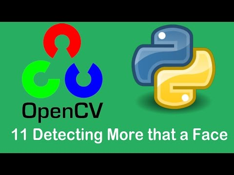 OpenCV3 Tutorials 11 Detecting lower body and Smile with OpenCV using Python