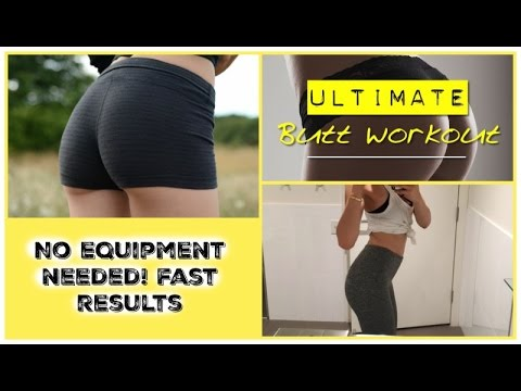 Butt Workout Routine *No Equipment, Fast Results*