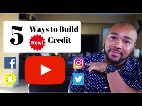 5 Ways To Build New Credit in 2017