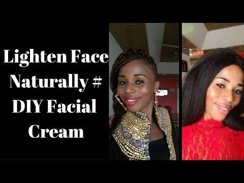 Lighten Face Naturally #Diy Facial Cream