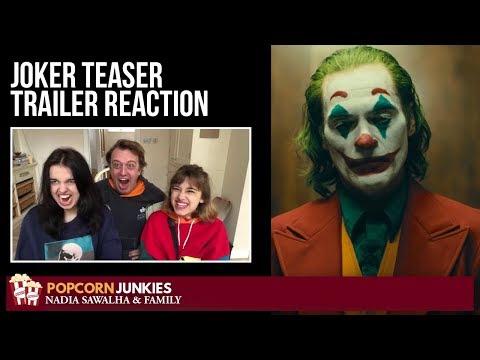 JOKER Teaser Trailer - Nadia Sawalha & The Popcorn Junkies Family Movie Reaction
