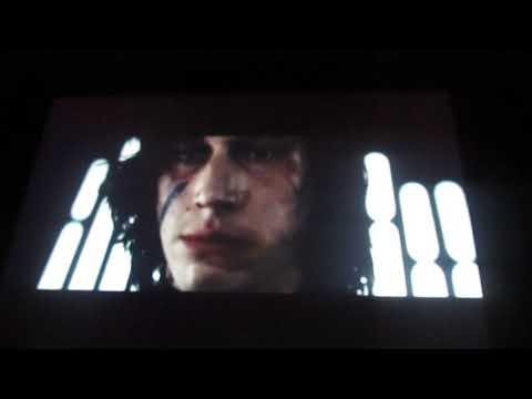 Star Wars The Last Jedi - Kylo Ren Destroys His Helmet