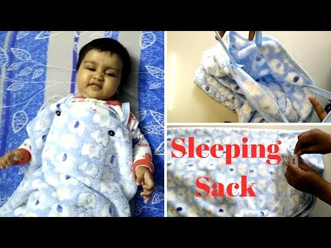 DIY Sleeping bag sack | From Blanket