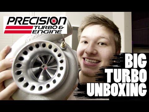 STI BIG Turbo Unboxing!! // STI Build Update 2 // PTE 6262