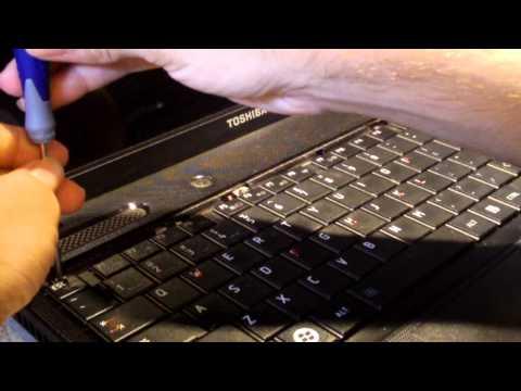 Keyboard Replacement on Toshiba Satellite C655