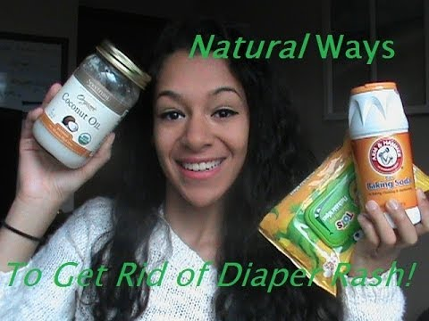 Natural Ways To Get Rid Of Diaper Rash!