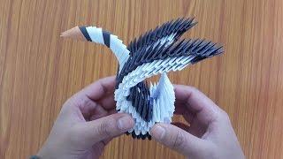 3D Origami Swan by sakuralu83 on DeviantArt | 180x320