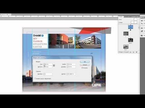 18. InDesign CS5 - Margins & Columns