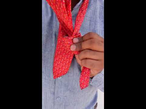 KNOT A TIE IN HINDI