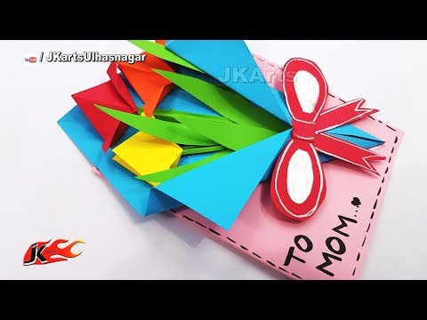 DIY Mother's Day Greeting Card | How to make | JK Arts 1392