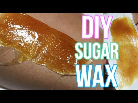 DIY WAX HAIR REMOVAL | SUGAR WAX