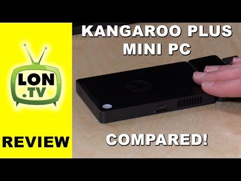 Kangaroo Plus Mini PC Review - Compared to Original - 2GB vs. 4GB of RAM demonstrated