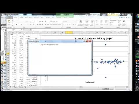 Fix Excel Graph Data problems
