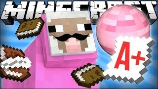 [DELETED VIDEO] Pink Sheep Goes to School - Minecraft